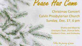 Peace Has Come Christmas Concert